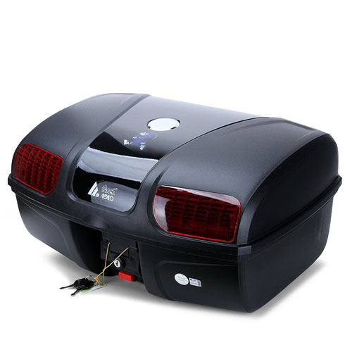 AUTOINBOX Universal Motorcycle Rear Tail Trunk Luggage Storage Case