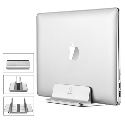 Vertical Laptop Stand, [Adjustable] Aluminum Macbook Pro Vertical Stand