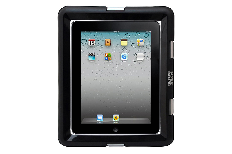 Universal iPad Waterproof Case, Marine Water Resistant IPX8 Outdoor Rugged Heavy Duty Tough Durable Shockproof Dustproof Protective Case with Screen Protector and Headphone Jack