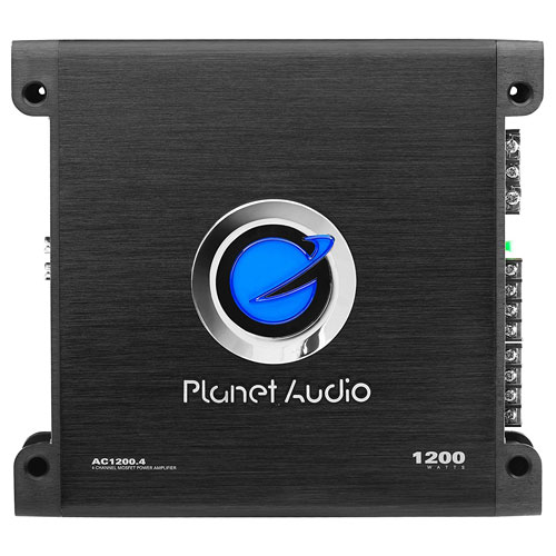 Planet Audio AC1200.4 Anarchy 1200 Watt, 4 Channel MOSFET Car Amplifier
