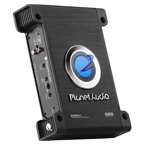 Planet Audio AC600.2 Anarchy 600 Watt Bridgeable, MOSFET Car Amplifier