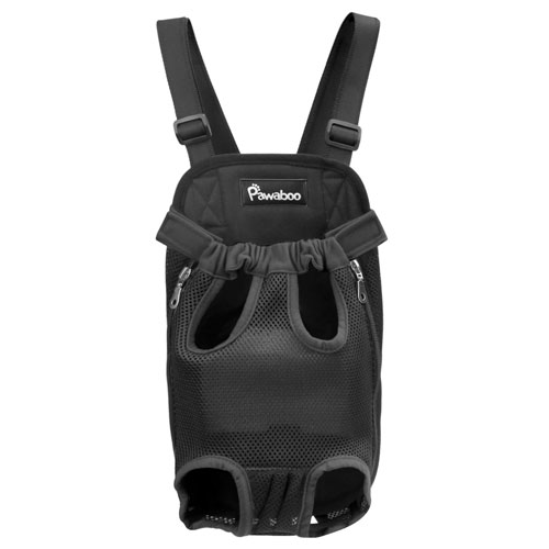 Pawaboo Pet Carrier Backpack, Adjustable Pet Front Cat Dog Carrier Backpack Travel Bag