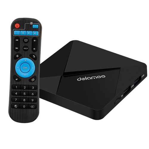 Android Tv Box, Dolamee D5 Android 6.0 2GB RAM 16GB ROM 4K Smart Tv