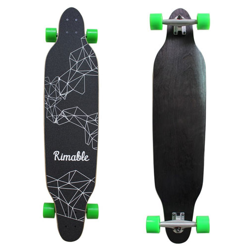 Rimable 42 Inch Freestyle Top mount Long board