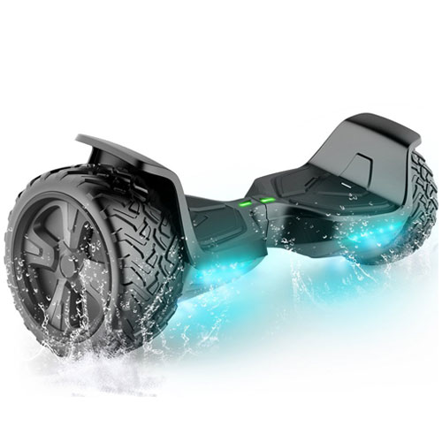 """TOMOLOO Self-Balancing Scooter UL2272 Certified 6.5"""" Wheel Hoverboard with RGB Lights"""