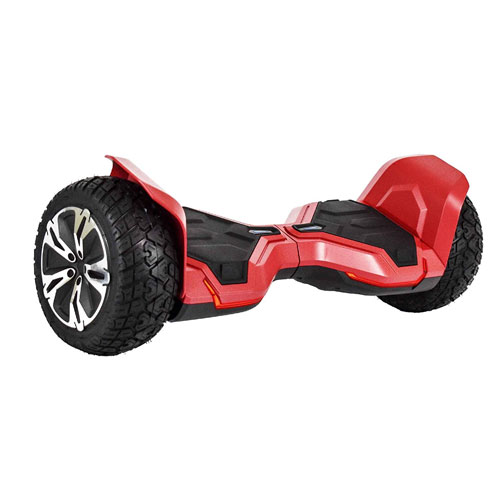 """All-Terrain 8.5"""" Wheels Off-Road Hoverboard Self Balancing Scooter with Bluetooth Speaker & Tron Lights - UL2272 Certified, G2, Black / Blue / Red / White"""