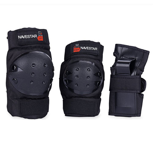 NAVESTAR Knee Pads Elbows Pads Wrist Guards Gear Set for Skateboarding