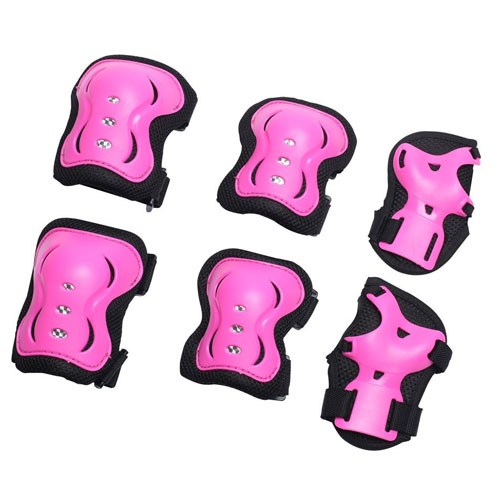 eNilecor Kid's Inline Skating Roller Blading Wrist Elbow Knee Pads Blades Guard