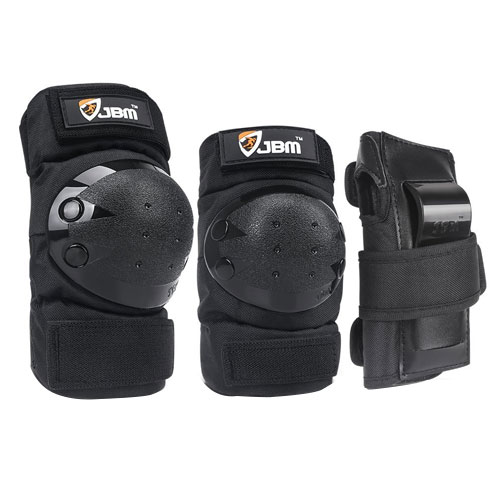 JBM international JBM Adult/Child Knee Pads Elbow Pads Wrist Guards