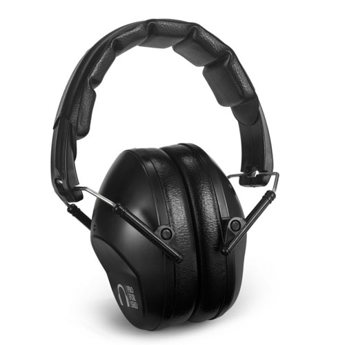 Pro For Sho 34dB Shooting Ear Protection - Special Designed Ear Muffs Lighter Weight & Maximum Hearing Protection, Black