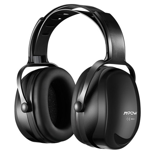 Mpow Noise Reduction Safety Ear Muffs, Adjustable SNR 36dB Shooting Hunting Muffs