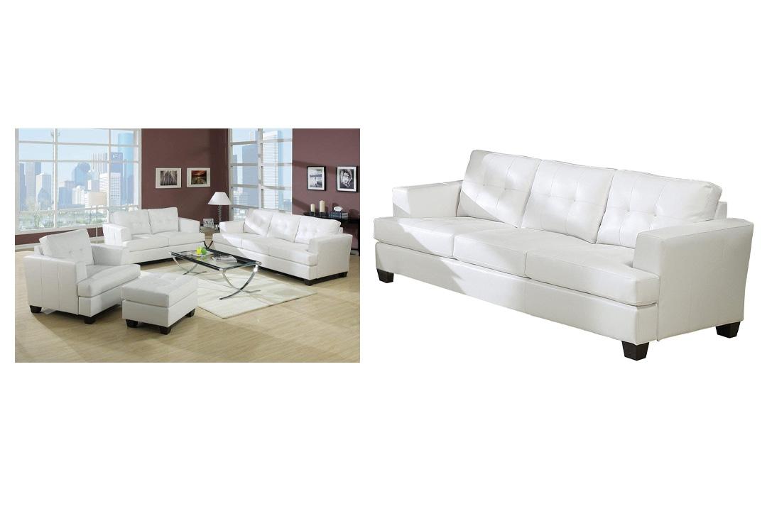 ACME, 15095 Bonded Leather Sofa