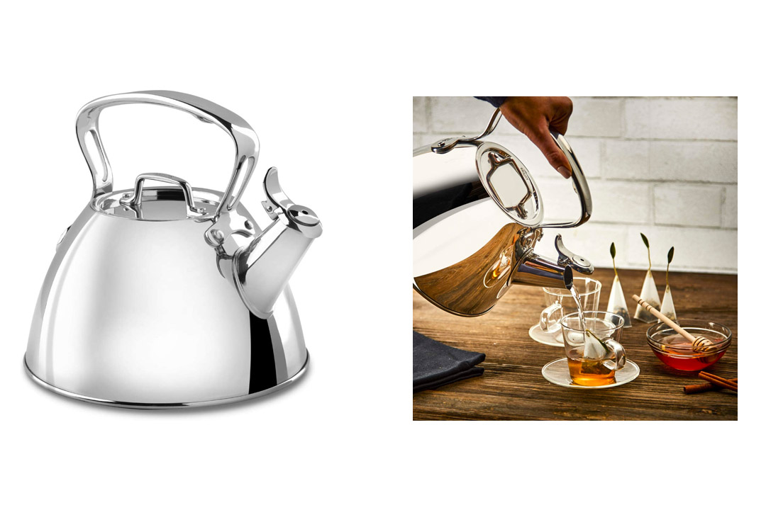 All-Clad E86199 Stainless Steel Specialty Cookware Tea Kettle
