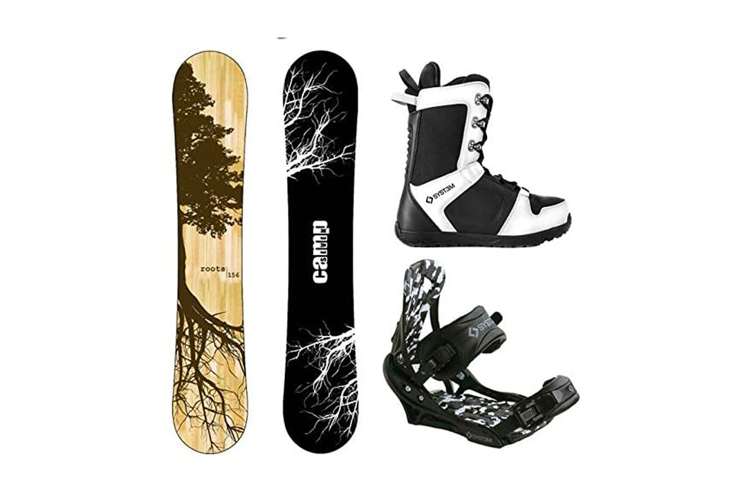 Camp Seven 2021 Roots CRC and APX Complete Men's Snowboard Package