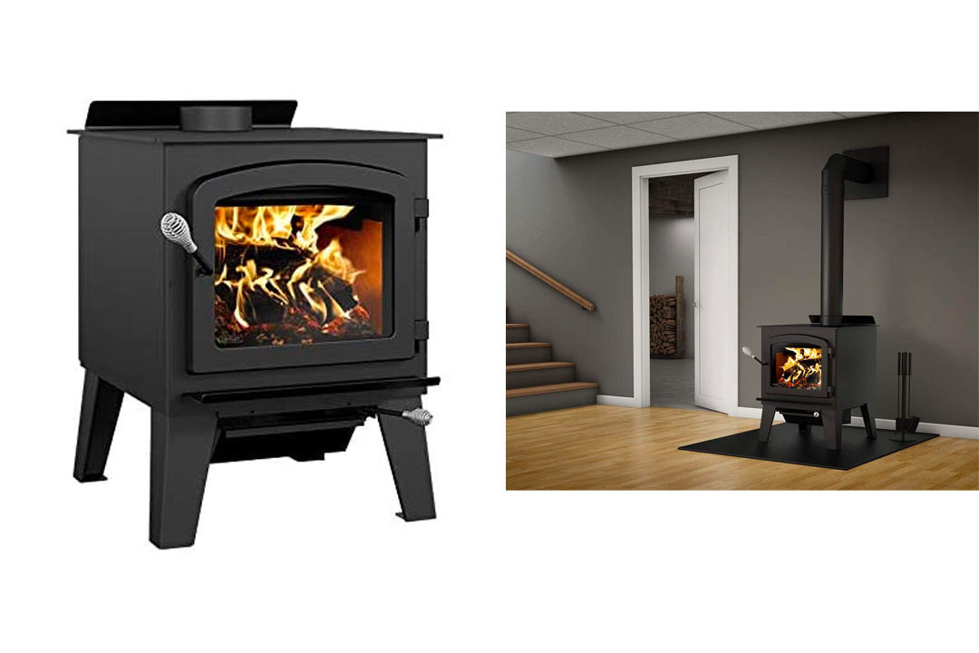 Drolet Austral III - Extra Large 2021 EPA Certified Wood Stove