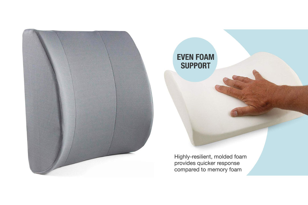 Duro-Med Relax-a-Bac, Lumbar Back Support Cushion Pillow