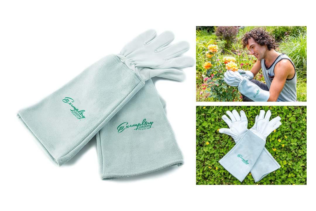 Exemplary Gardens Brand Rose Pruning Gloves for Men and Women