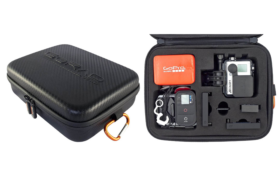 GoRad Gear Carrying Case for GoPro Hero Cameras