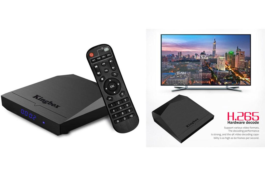 Kingbox K3 Android 7.1 TV Box Amlogic S912 Octa-Core 64 Bits 2GB/16GB