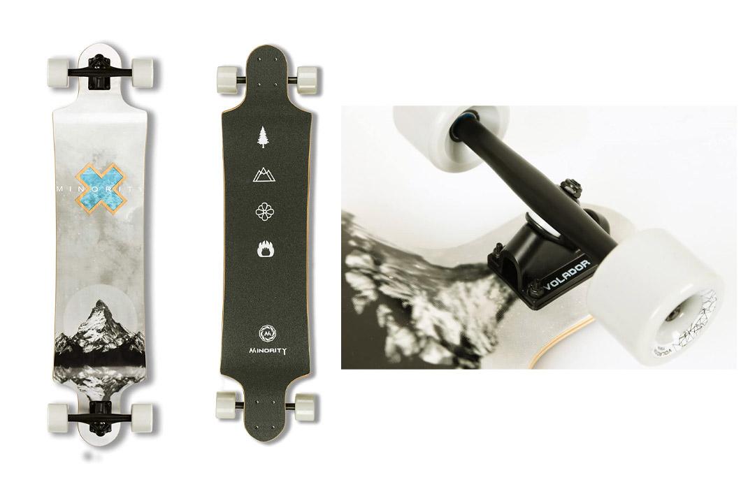 MINORITY Downhill Maple Longboard 40-inch Drop Deck