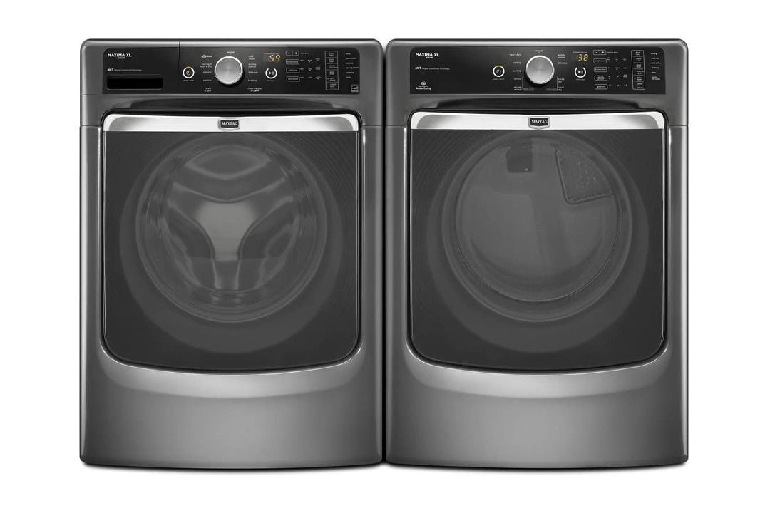 Maytag Maxima Steam Washer and Dryer Set
