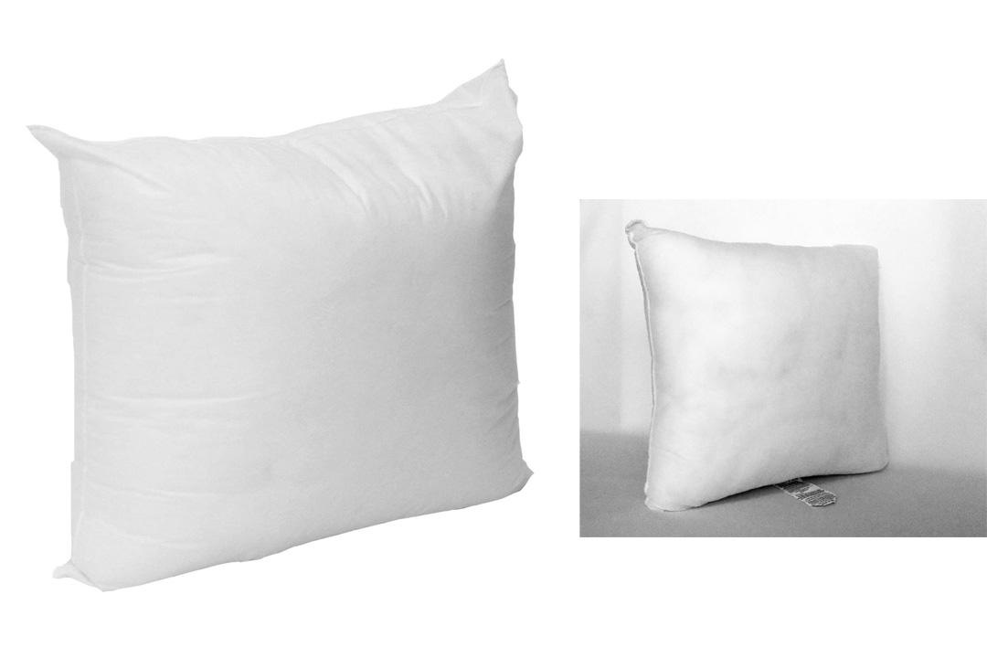 "Mybecca - 18"" X 18"" Sham Stuffer Square Pillow Form Insert Polyester, Standard / White"