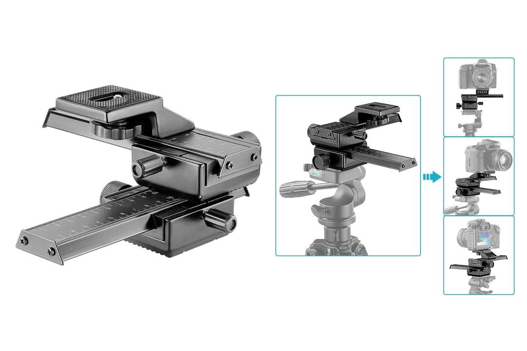 Neewer® Pro 4 Way Macro Focusing Focus Rail Slider