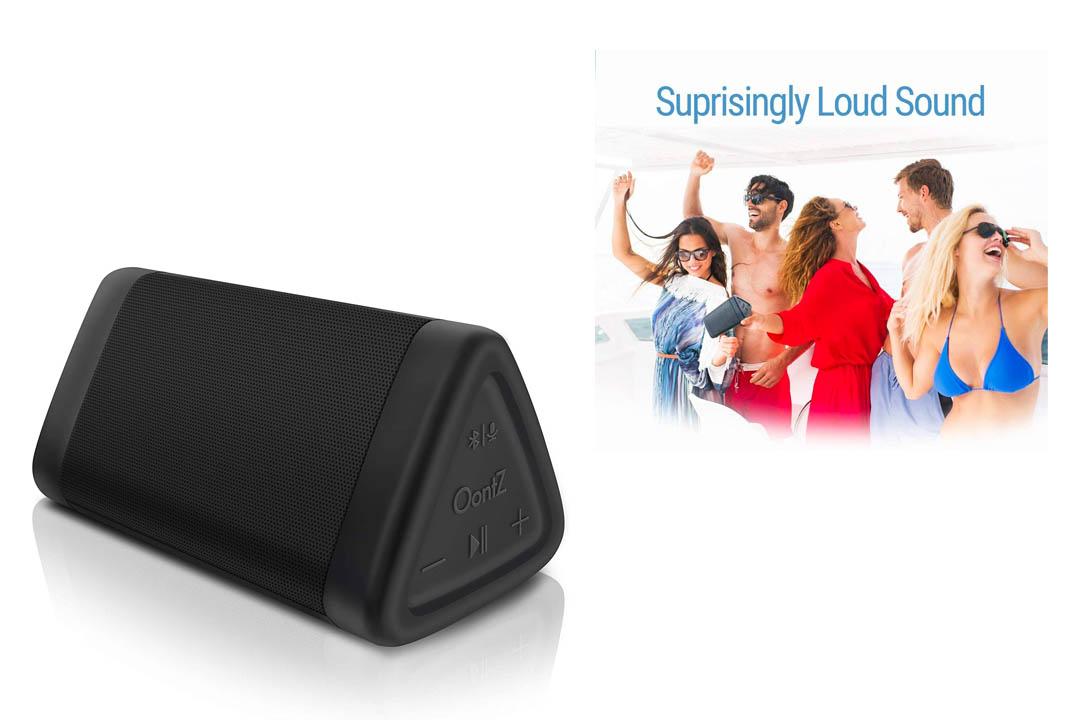 OontZ Angle 3 Enhanced Stereo Edition IPX5 Splashproof Portable Bluetooth Speaker