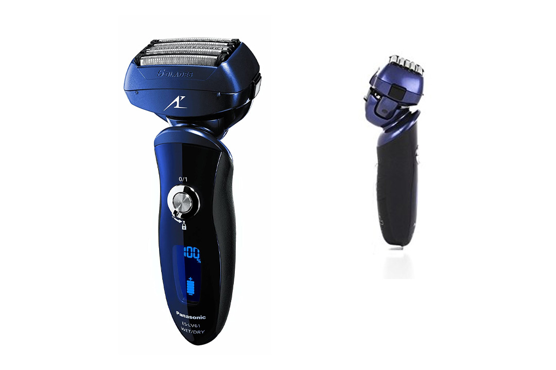 Panasonic ES-LV61-A Arc5 Electric Shaver Wet/Dry with Multi-Flex Pivoting Head for Men