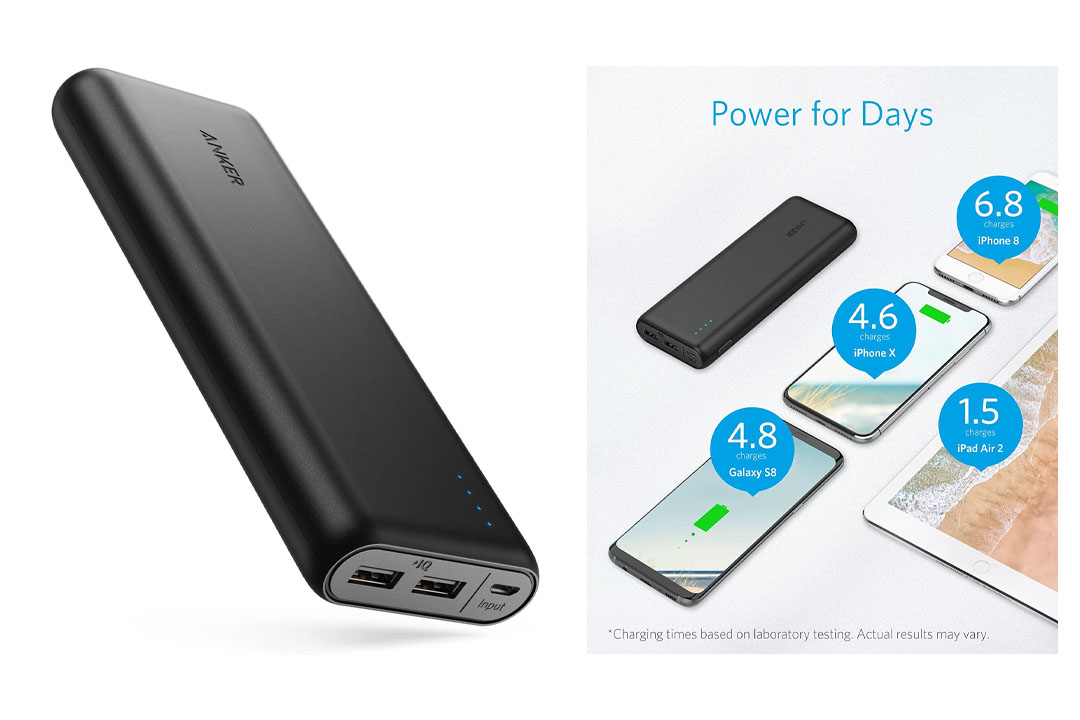 PowerIQ Technology 20000mAh Portable Charger