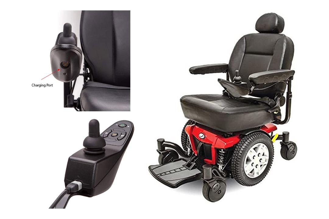 Pride Jazzy 600 ES Electric Wheelchair