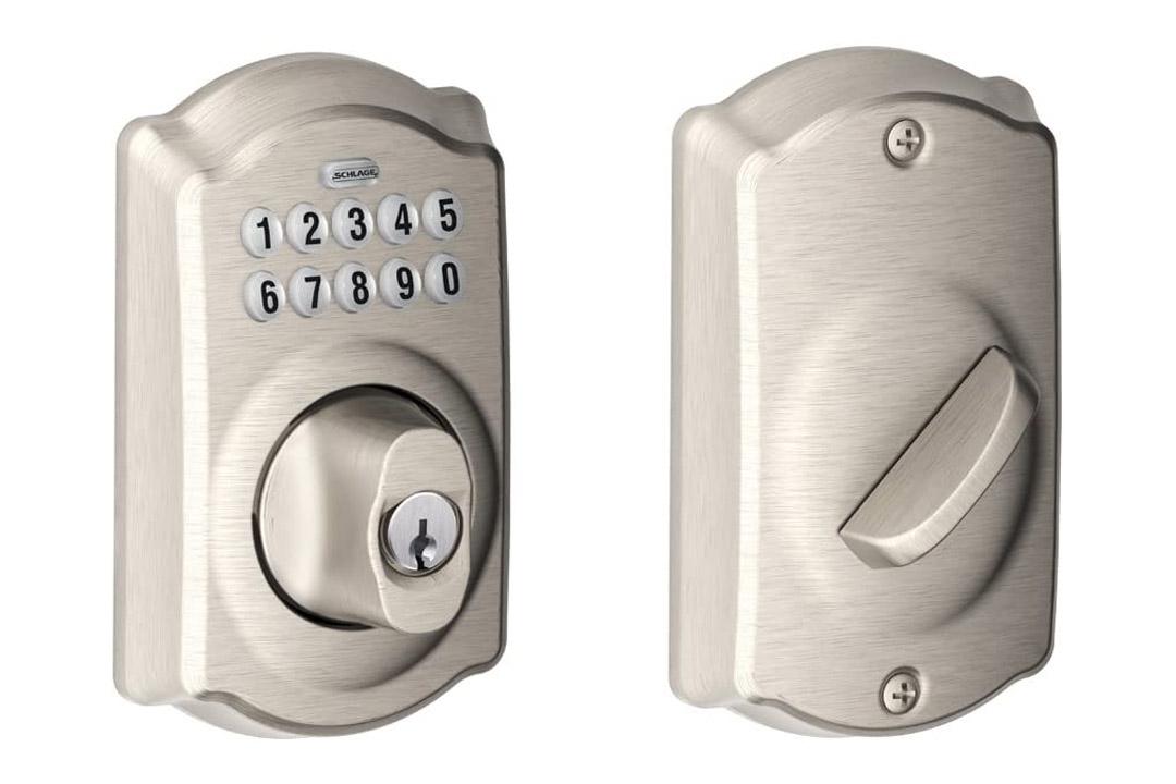 Schlage BE365VCAM716 Camelot Keypad Deadbolt