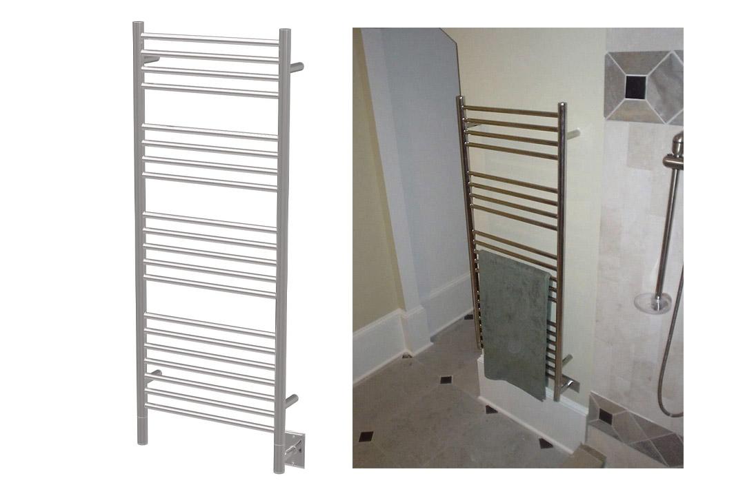 Straight Electric Towel Warmer