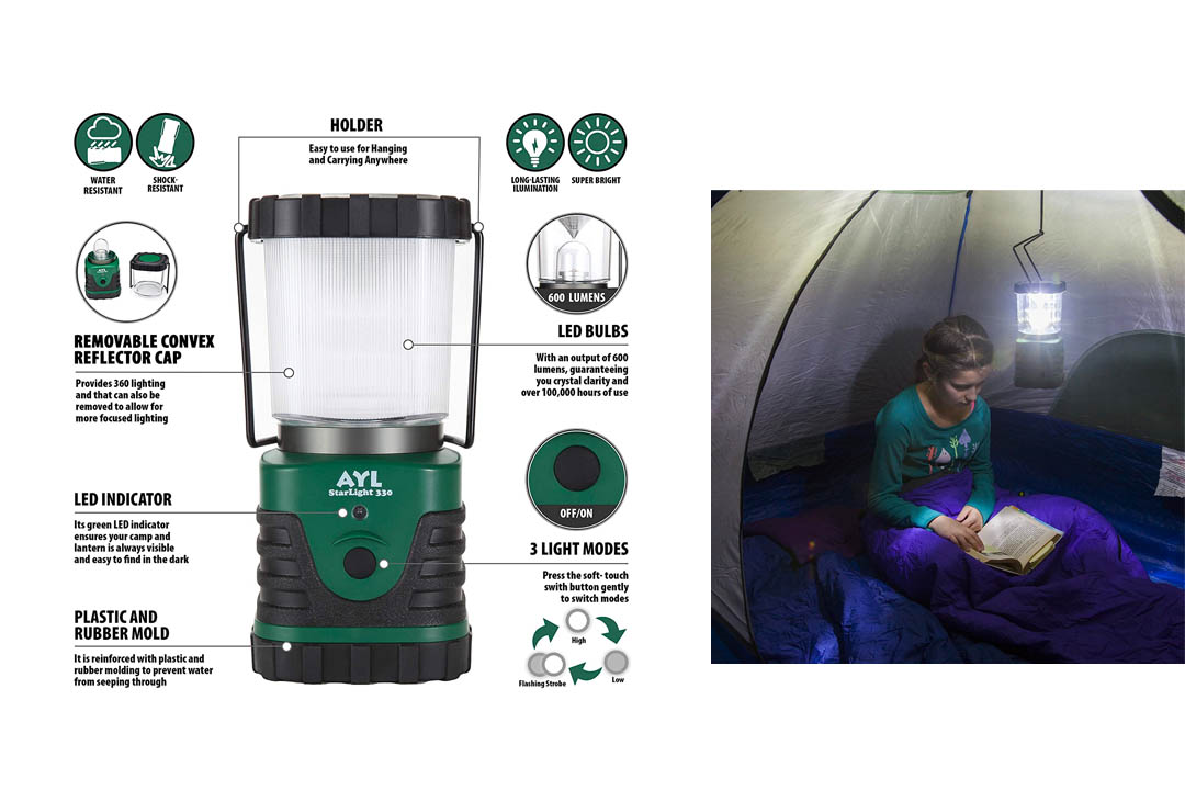 Supernova Orion Ultimate Survival Rechargeable LED Camping Lantern