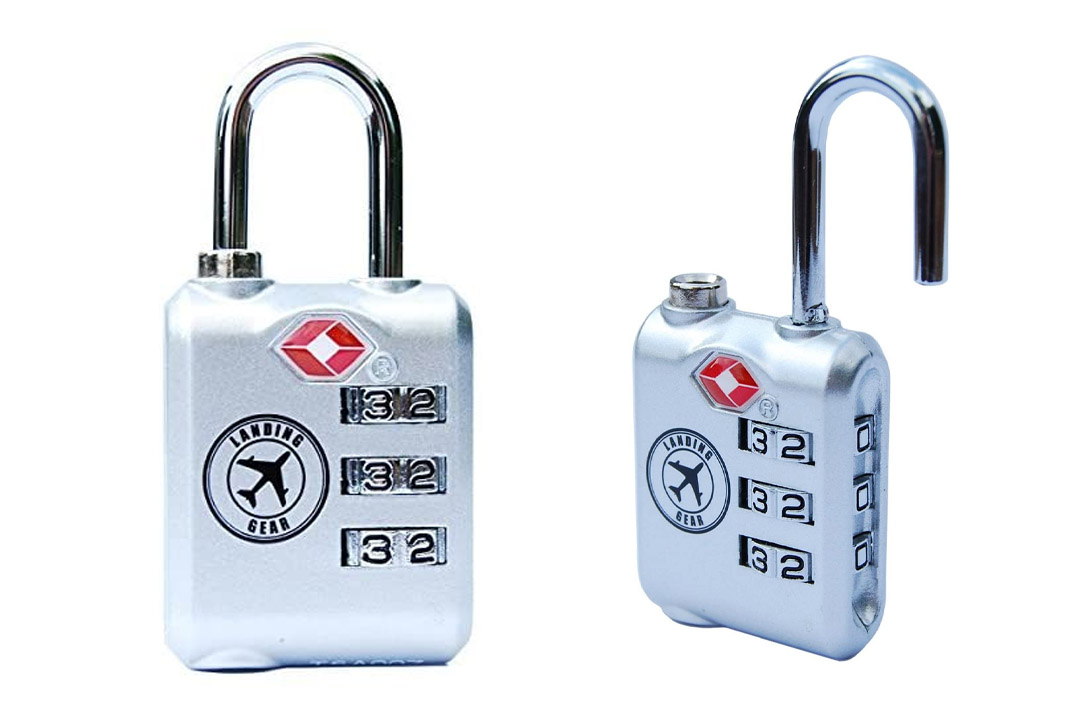 TSA Approved Lock Heavy Duty Three Digit Combination