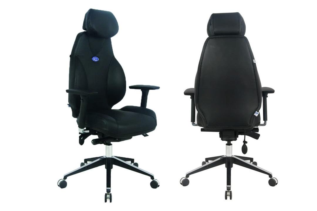 VIVA OFFICE® Hottest High Back Ergonomic Multi-function Luxury Leather Office Chair