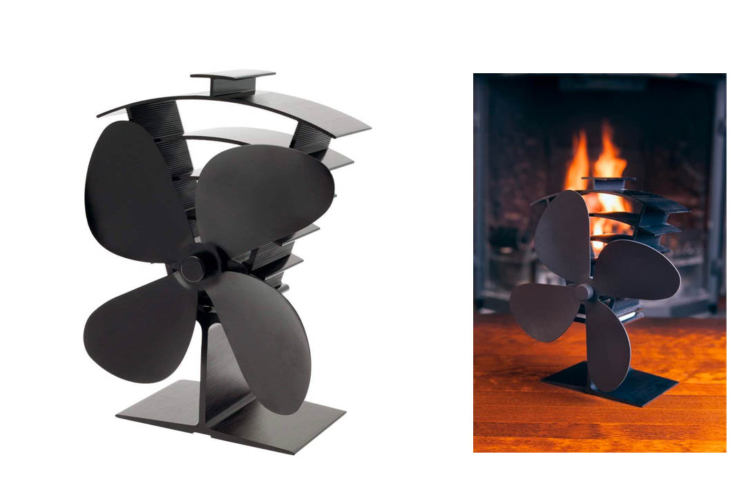 Valiant FIR361 Premium 4 Heat Powered Stove Fan