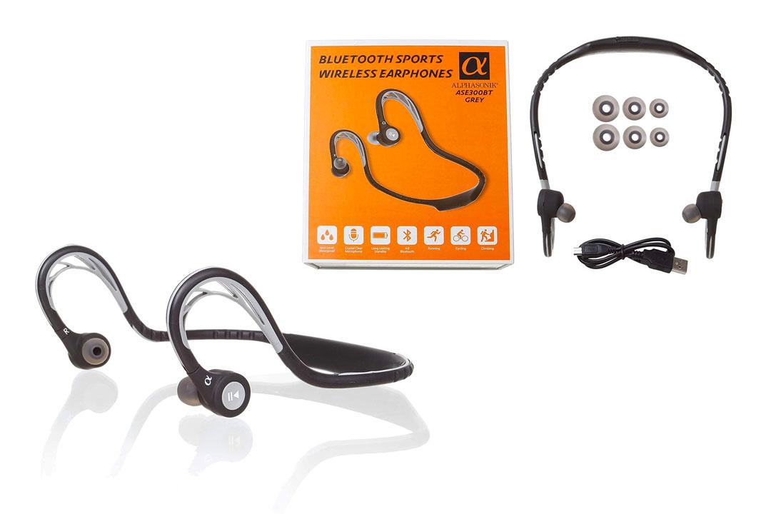 Wireless Bluetooth Photive Built-in Mic Headphones