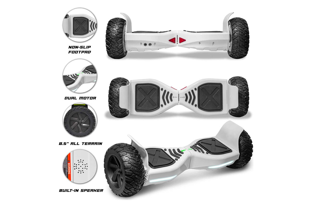 cho All Terrain Hoverboard Off-Road Racing Tyre Hover Board Smart Self-Balancing