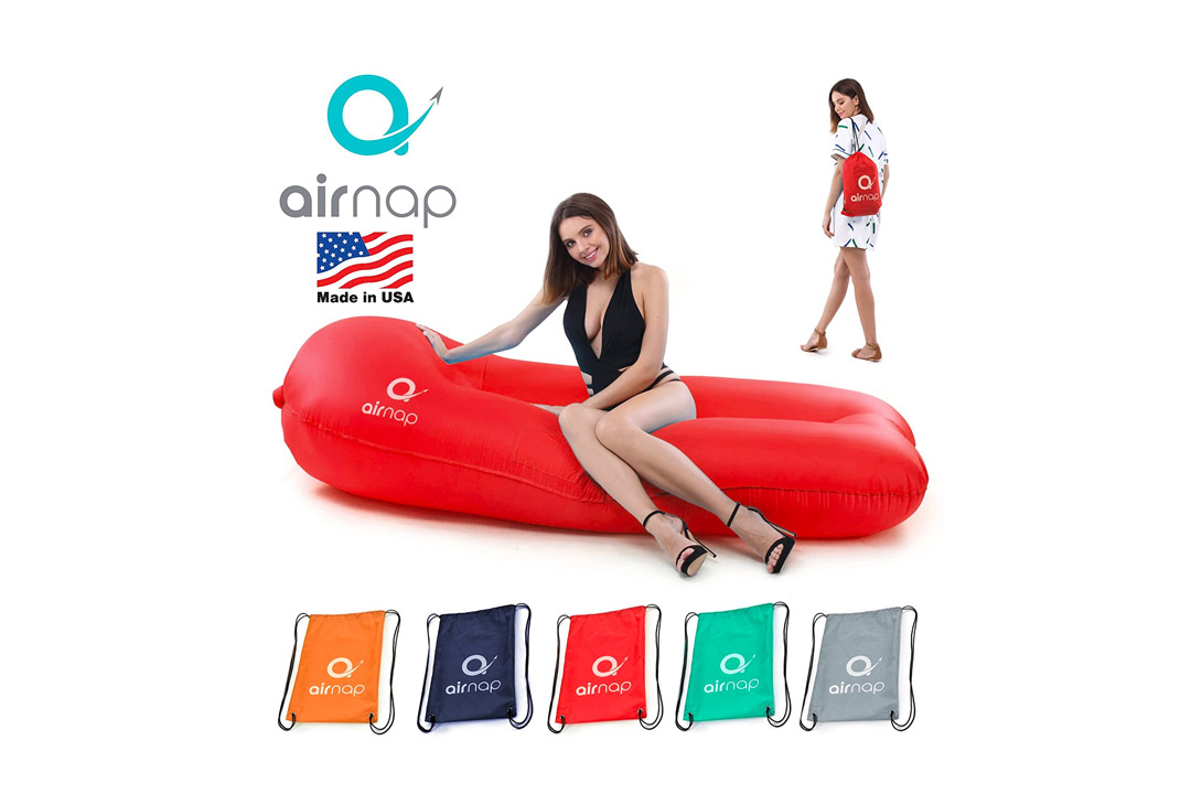 """""""airgap"""" Premium Air Lounger Lounge Bag, Hammock, Air Sofa   Floats on Water, Ideal for Indoor or Outdoor Use"""