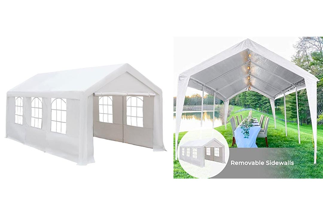 Abba Patio Heavy Duty Domain Carport