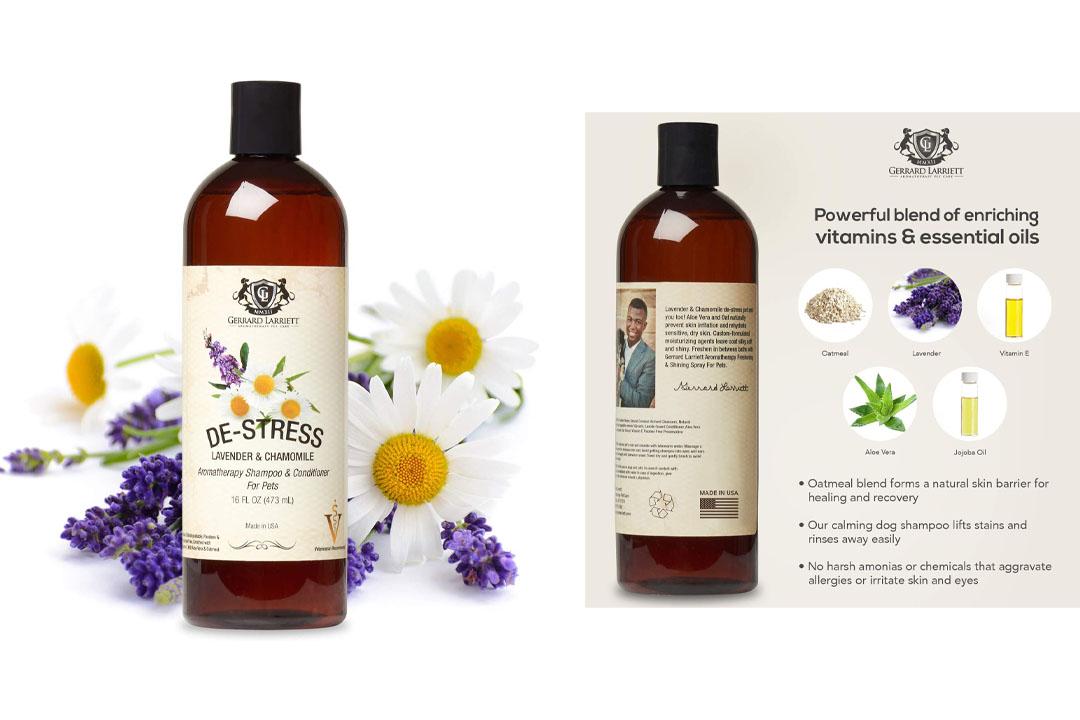 Aromatherapy Shampoo & Conditioner For Pets Dog Shampoo, Medicated, Whitening, Oatmeal Dog Shampoo & Pet Odor Eliminator