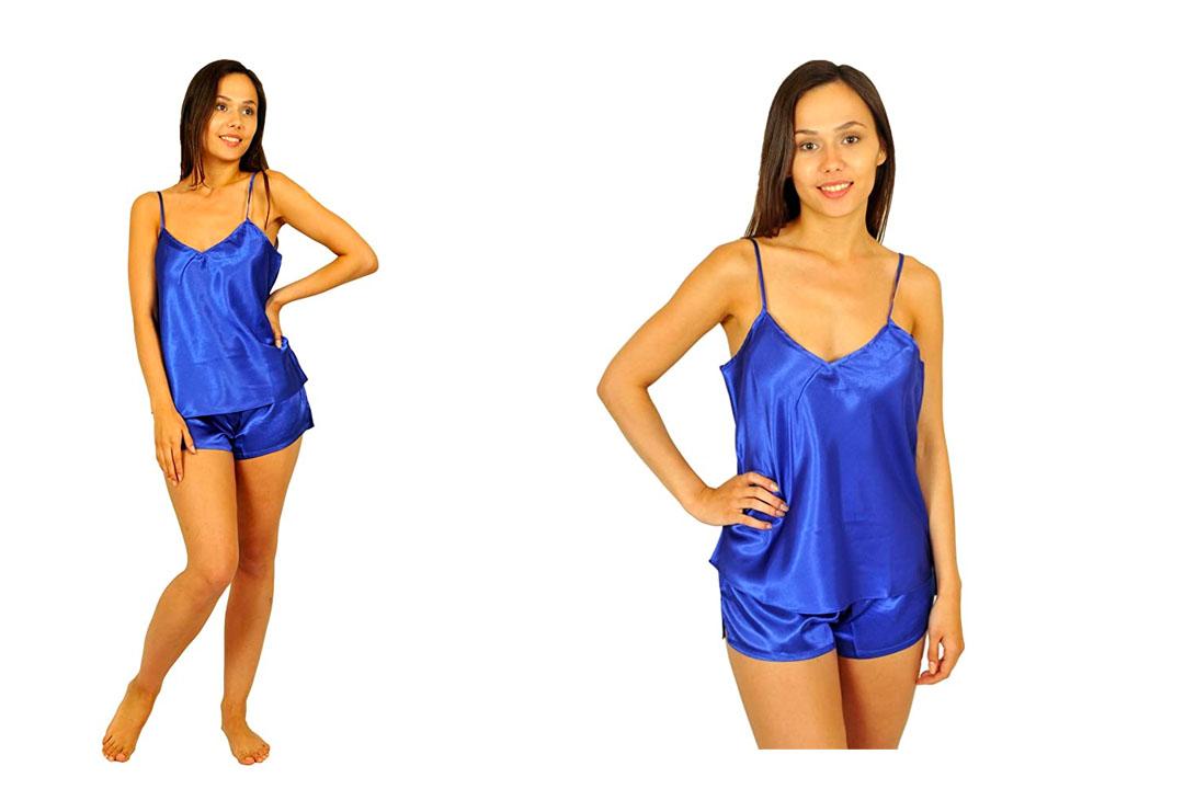 CYZ Women's 100% Cotton Sleepshirt Nightshirt Pajama Top