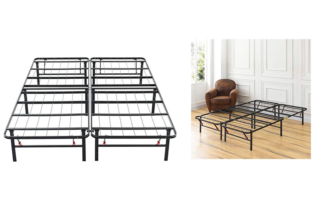 Classic Brands Hercules Platform Heavy Duty Metal Bed Frame/Mattress Foundation, King Size