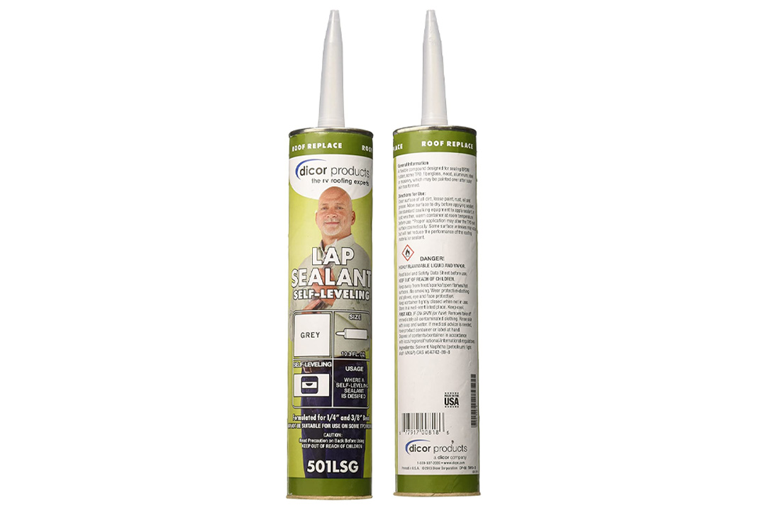Dicor 501LSG-1 Grey Lap Sealant - 10.3 ounces