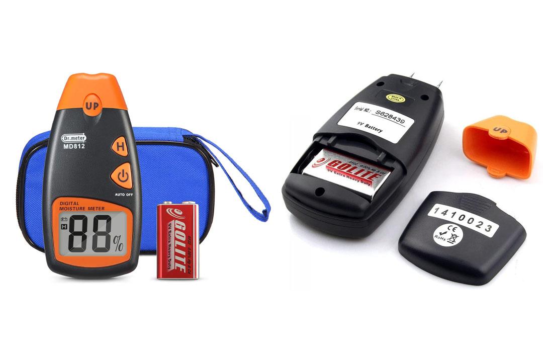 Dr.Meter MD-812 LCD Display Digital Wood Moisture Meter-To Measure The Percentage Of Water