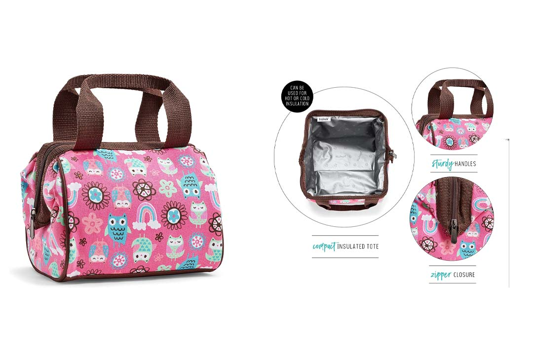 Fit Fresh Insulated Lunch Bag