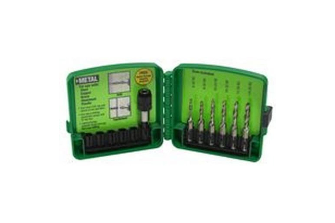 9. Morse Cutting Tools 37104 Tap and Drill Set, NF Series, High Speed Steel, #104 Number