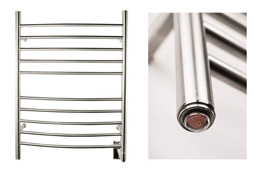 Hardwired Curved Towel Warmer