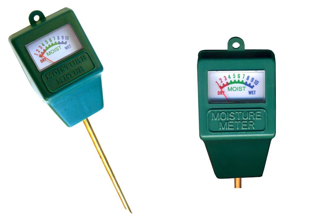 Indoor/Outdoor Moisture Sensor Meter, Soil Water Monitor, Plant Care, Garden, Lawn